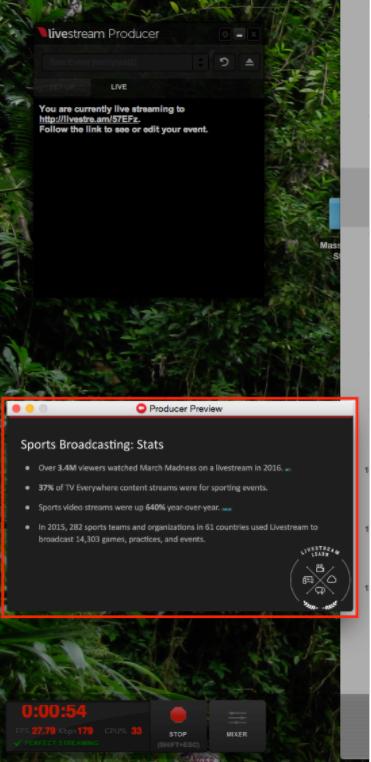 Streaming Your Desktop with Livestream Producer – Livestream