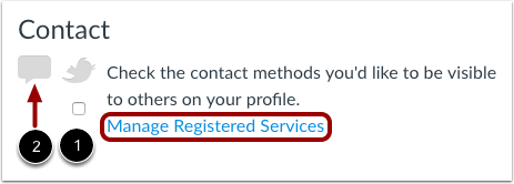 Add Contact Methods