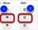 View / Edit Courses