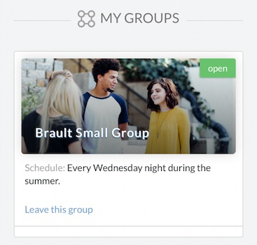 my groups