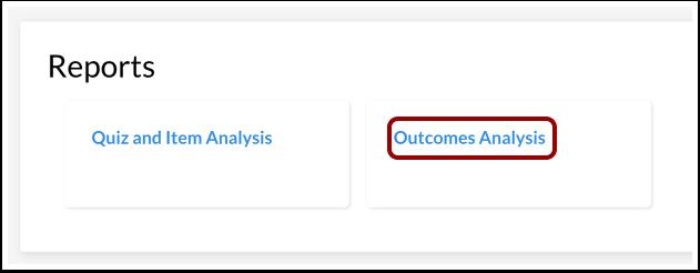 Open Outcomes Analysis