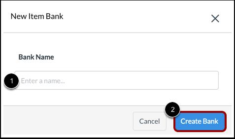 Name Item Bank