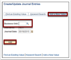 creating and posting a manual journal entry general ledger