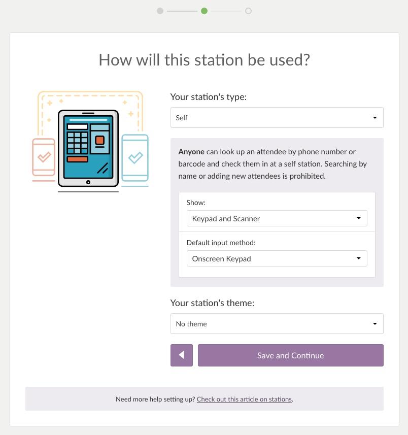 self station info