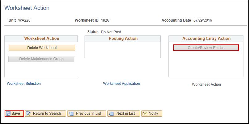 worksheet accounting