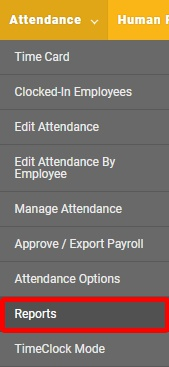 """Go to the appropriate """"Reports"""" page."""