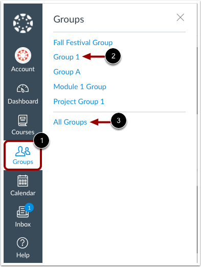 Visualizar Grupos