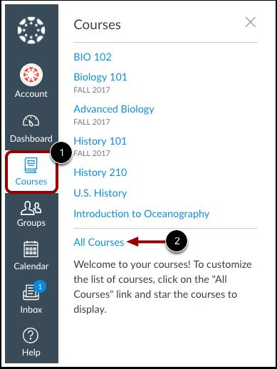 Abrir cursos