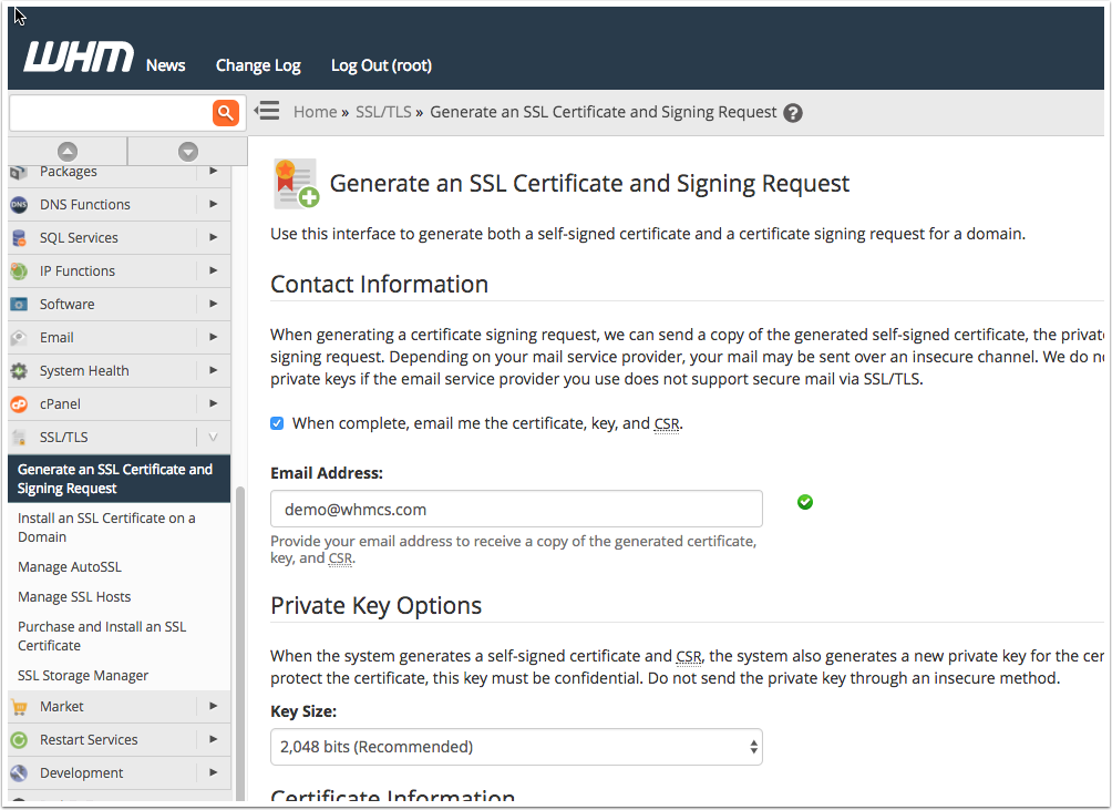 How To Generate A Certificate Signing Request Csr Managing