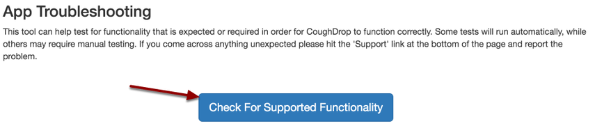 How do I troubleshoot speech output issues? – CoughDrop