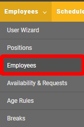 "Go to the ""Employees"" page."