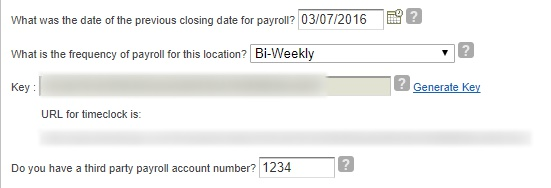 Set up your pay periods.