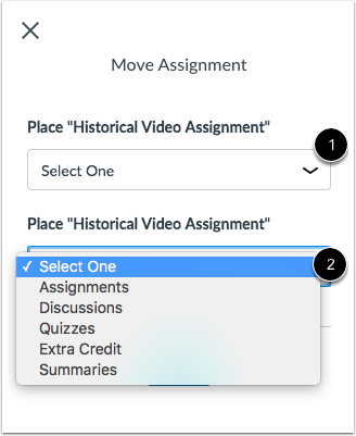 Place Assignment Group