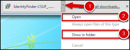 Download a File in Chrome