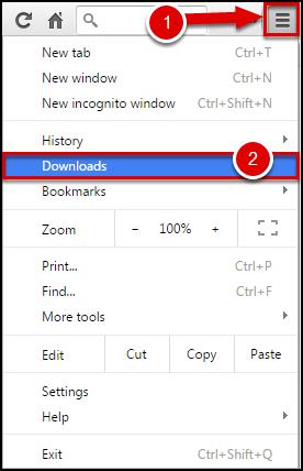 Find the Default Download Folder in Chrome