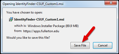 Download a File in Firefox