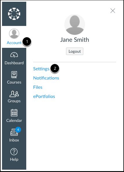Abrir configuraciones del usuario