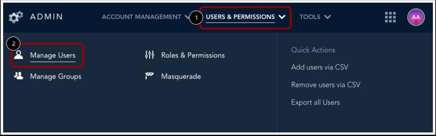 Open User Management
