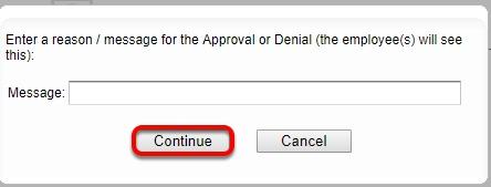"Finalize the ""Shift Swap""."