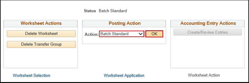Batch Standard