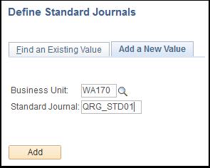 Define Standard Journals