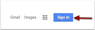 Google Sign in button