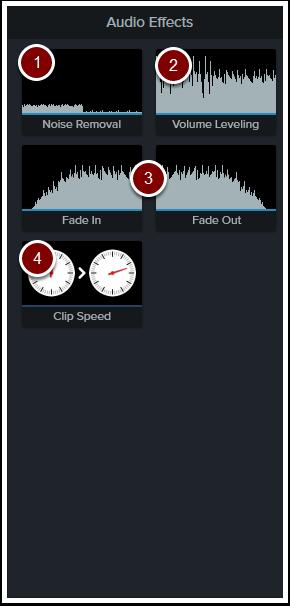 Audio effects tools