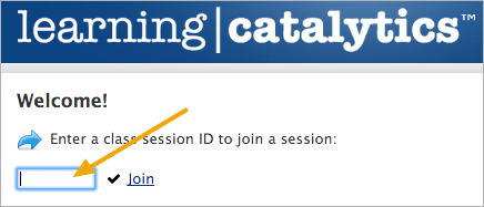 Join the test session provided by your instructor (if any)