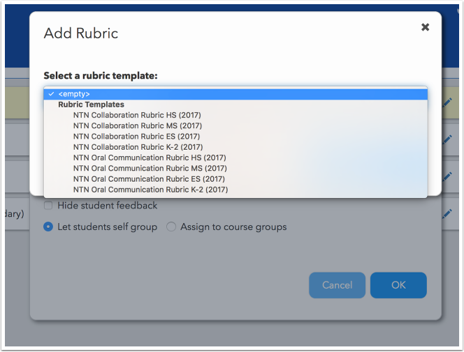 How do I create and edit rubrics for Peer Assessment? – Echo Help Center