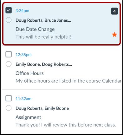 Select Conversation