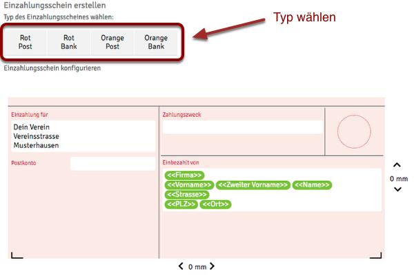 Rechnungen Mit Einzahlungsschein Schweiz Webling Support