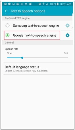 Correcting a Samsung Device Text-to Speech Problem – CoughDrop