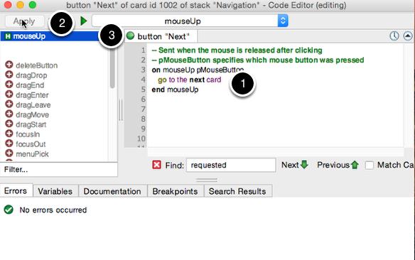 Adding a Script to a Button