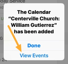 calendar added