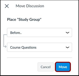Move Discussion