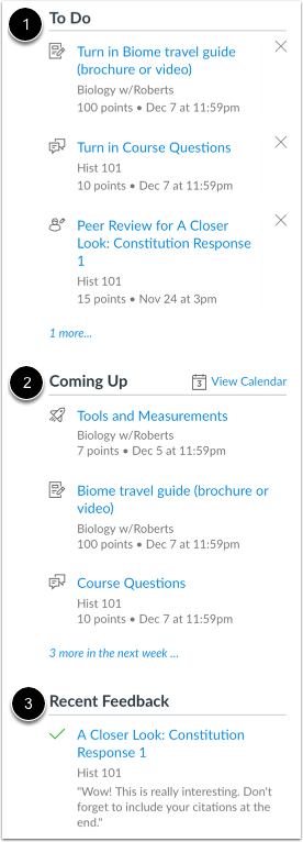 View Student Sections