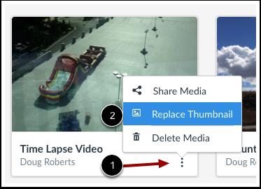 Replace Thumbnail