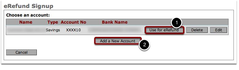 Choose an Account
