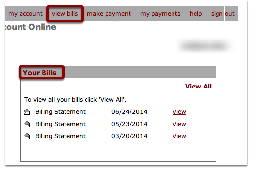 Receive Bills from OC Electronically
