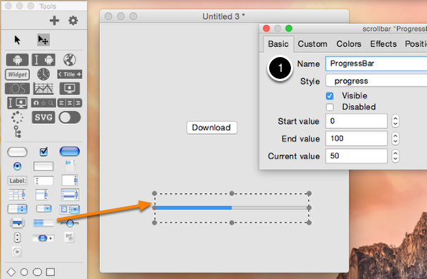 Adding a progress bar.
