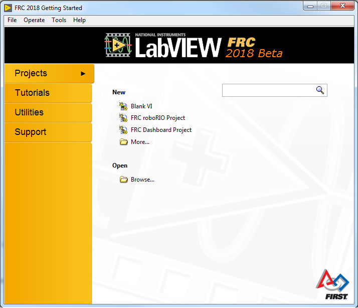 LabVIEW FRC 2017