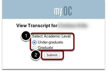 Select Transcript