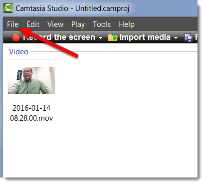 Rotate an ipad video in camtasia studio file is selected ccuart Image collections
