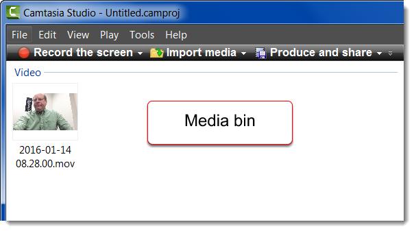 Rotate an ipad video in camtasia studio media in media bin ccuart Image collections