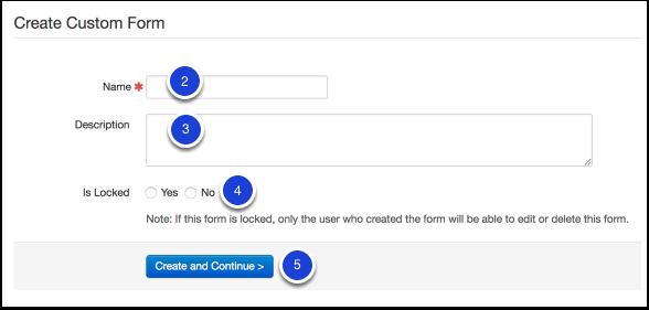 Manage (Create) Custom Forms – Illuminate Education