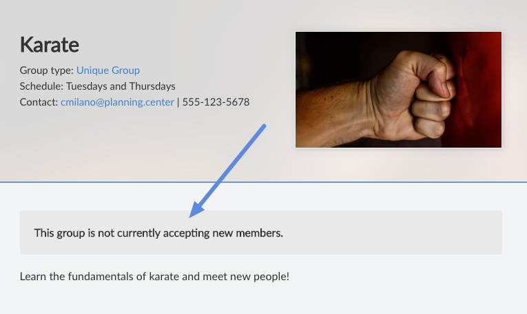 group page