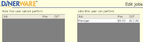 Select a job.