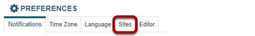 Sites.
