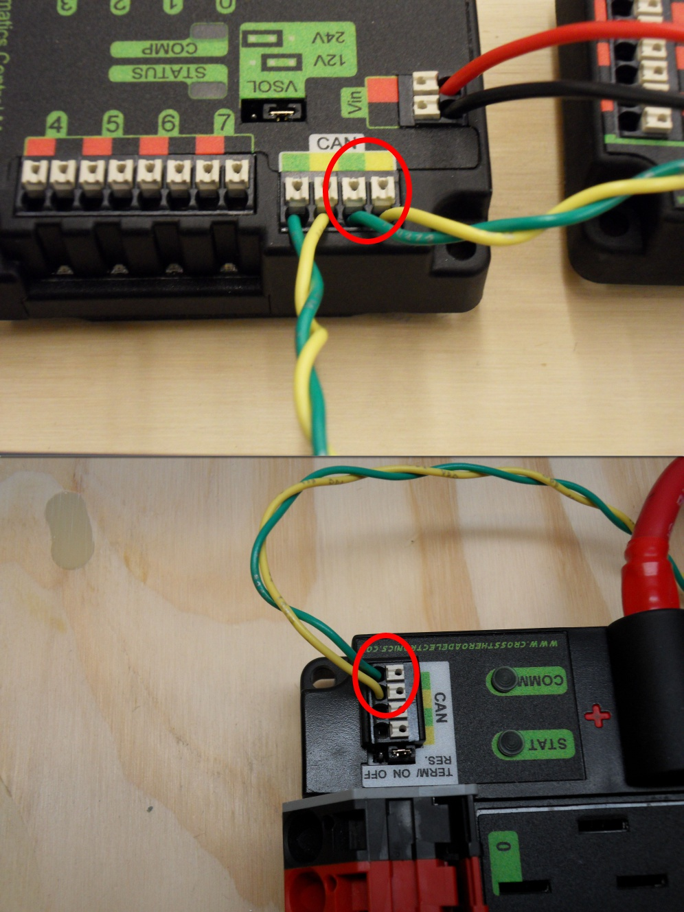 Wiring The Frc Control System Getting Started With 12v Home Basics Pcm To Pdp Can
