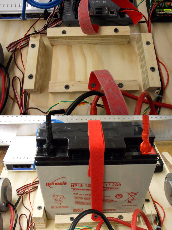 Wiring The Frc Control System Hardware 2018 Ftc Robotics Diagram Battery Box